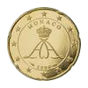 20 eurocent Monaco Albert II