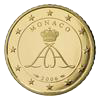 50 eurocent Monaco Albert II